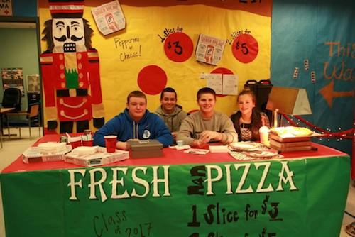 Freshman Class-Pizza Booth